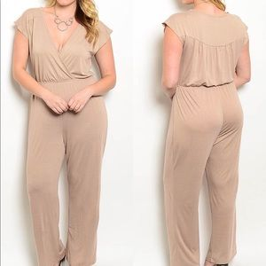 Pants - Mocha Jumpsuit | MAKE A OFFER